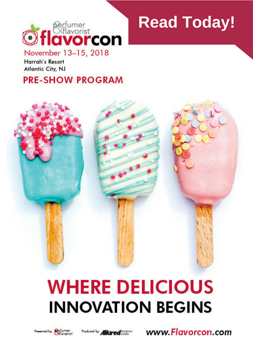 A cover to the Flavorcon pre-show program