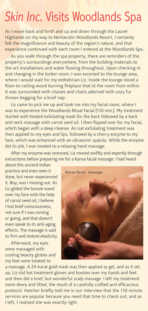 Skin+Inc.+Visits+the+Woodlands+Spa