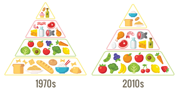 Food+Pyramids+1970s+vs.+Today