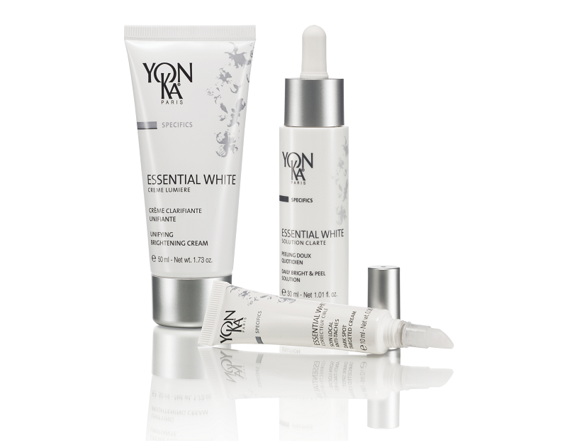 Three products from Yonka