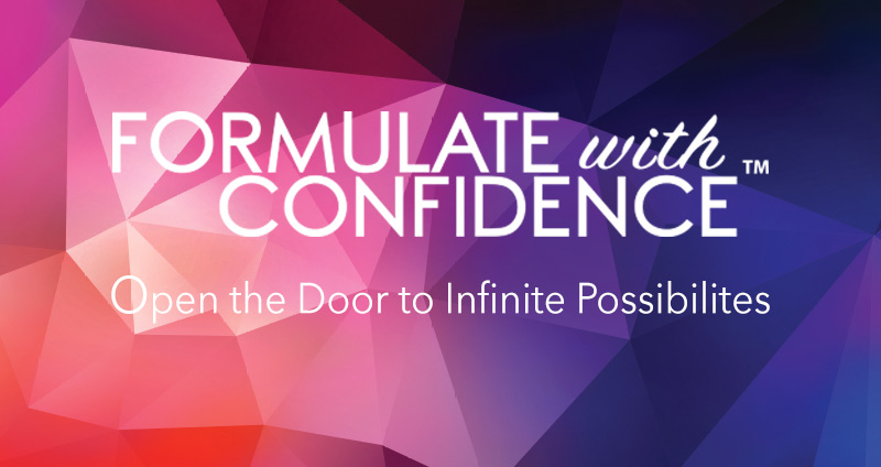 Formulating with Confidence