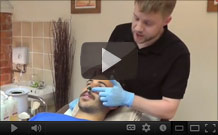 Click to play the Mens Nostril Wax how-to video